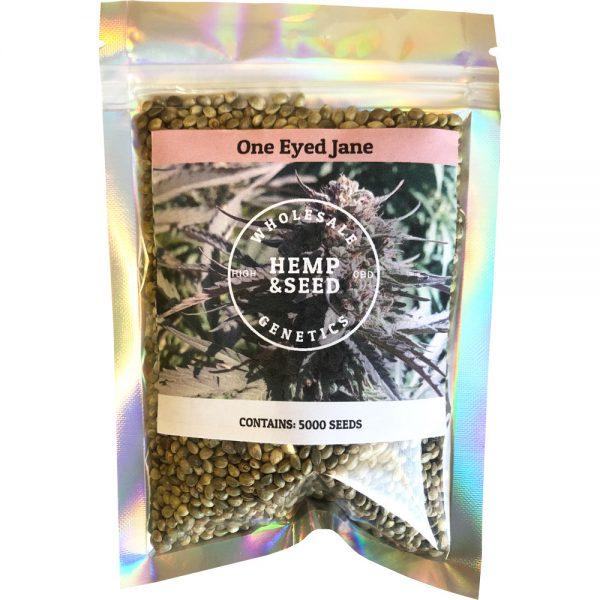 One Eyed Jane High CBD Hemp Seeds